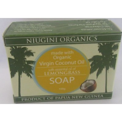 Coconut Soap Lemongrass