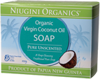 Unscented Coconut Oil Soaps